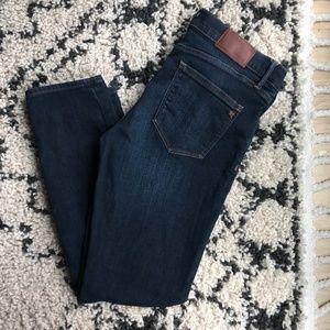 Madewell | Skinny Skinny Crop Dark Wash Jeans